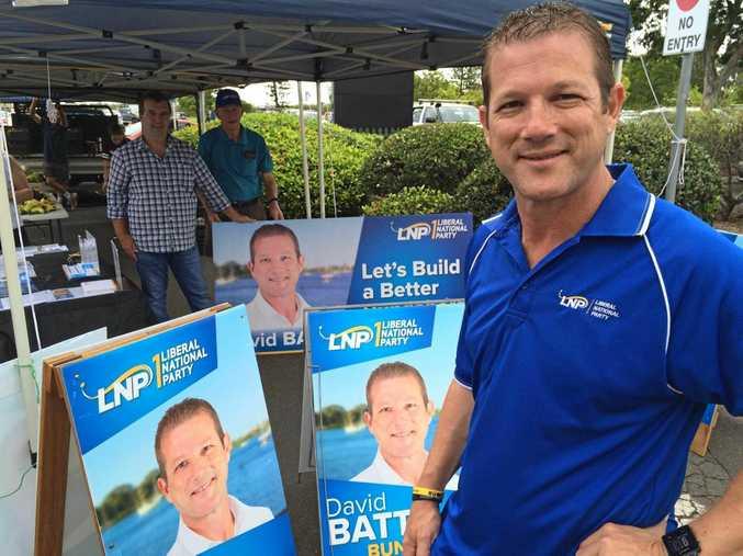 LNP candidate David Batt.