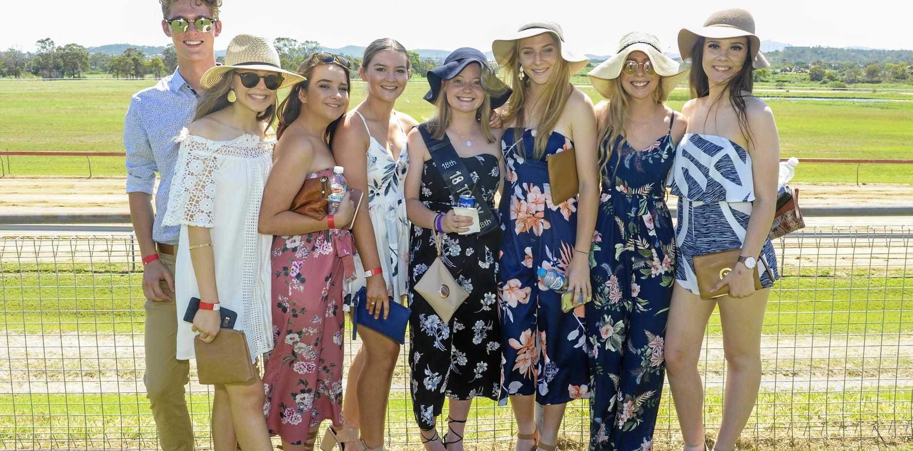 Lochie Carlson, Kaylah Gold, Taylor Pengelly, Katelyn Oliver, Katelyn Hume, Yasmin Ramsay, Mikaela Allen and Samantha Green
