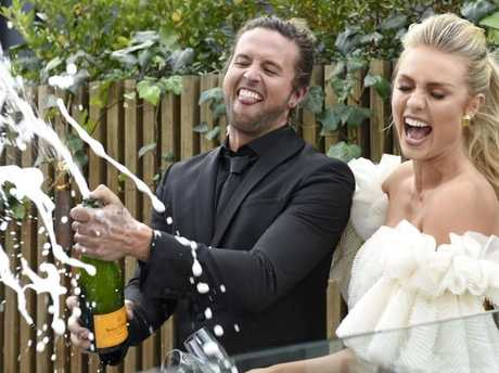 Elyse Knowles and Josh Barker came out on top. Picture: Channel 9
