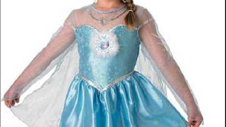 Elsa from Frozen costume. Source: Escapade