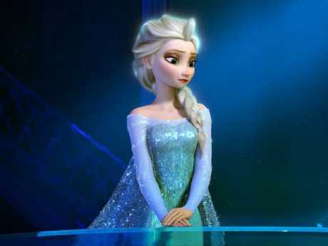 Elsa in the Disney movie Frozen. Picture: AP