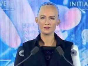 Outrage as Saudis give robot citizenship