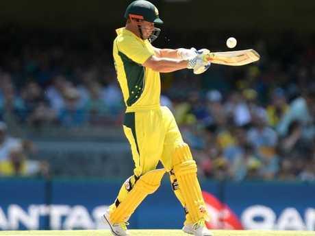 Chris Lynn unleashes for Australia.