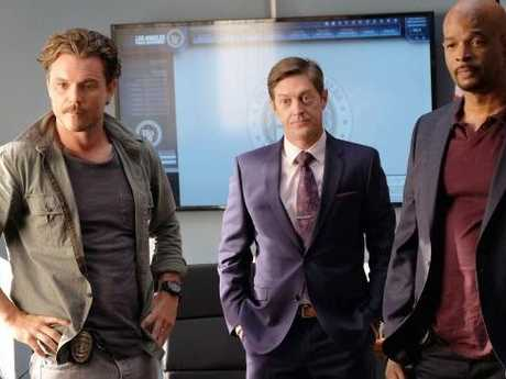Clayne Crawford and Damon Wayans in the TV remake of Lethal Weapon. Picture: Supplied
