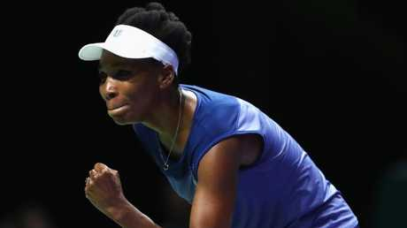 "Venus Williams: ""It's not over till the fat lady sings and I'm not fat, so ..."" Picture: Getty Images"