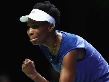 """Venus Williams: """"It's not over till the fat lady sings and I'm not fat, so ..."""" Picture: Getty Images"""