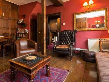 The apartment is in York, said to be one of the most haunted towns in the world. Picture: Airbnb