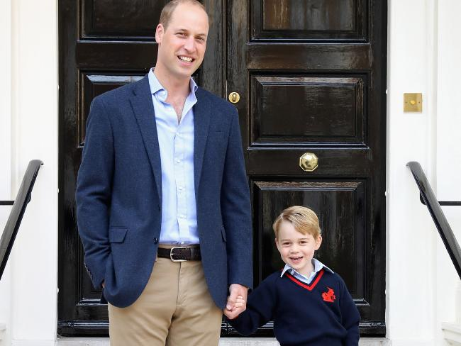 The Prince struggled after the birth of his first child, Prince George, according to the Duchess of Cambridge.