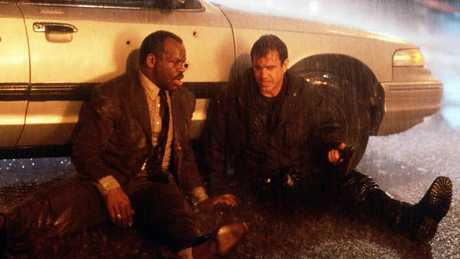 Glover and Gibson will return to film the fifth movie in the series. Picture: Supplied.