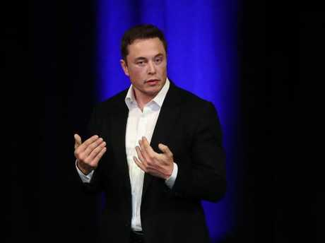Musk says Australia needs to act now. Picture: Dylan Coker