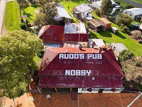 Nobby's Pub is for sale.