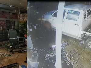 VIDEO: Unbelievable footage of business ram raid
