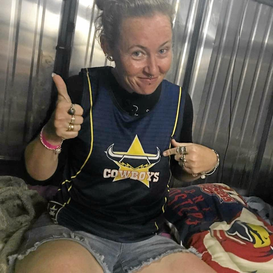 What came as more of a surprise was when the Rockhampton Magistrates Court heard, while Eneka Graham (pictured) was being sentenced for breaching her duty of care of Lenny, was that Lennys weight increased to that similar to the average 12-year-old boys (25.3kgs) in only six weeks.