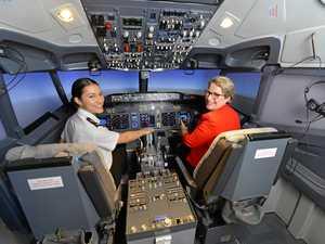 QLD FIRST: Simulator lifts aspiring pilots to cloud nine
