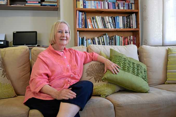 HOME AGAIN: Kathryn Barnes has been bitten by the travel bug, over and over.