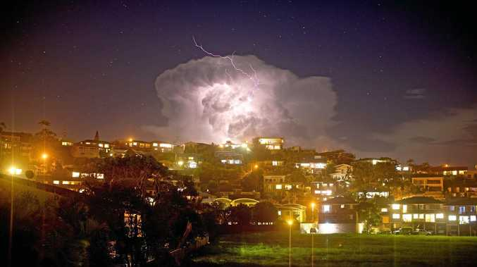 FLASH PHOTO: Lightning shows have been spectacular on the Coffs Coast as spring storms roll across the region.