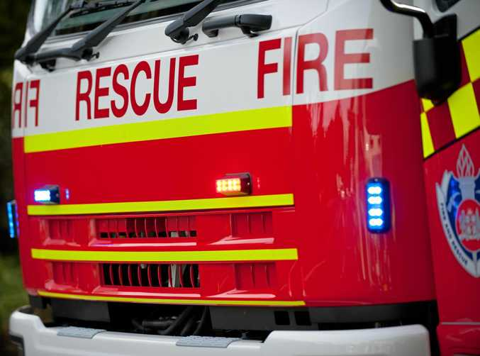 Police and fireys are investigating how a house fire engulfed a home north of Kyogle.