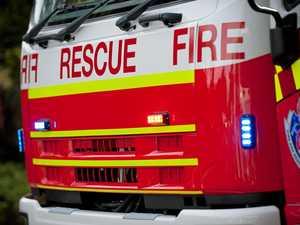 Fire temporarily closes national park