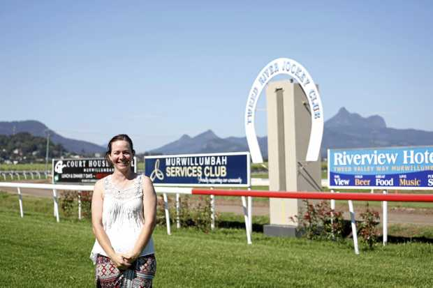 GREEN LIGHT: Tweed River Jockey Club's new general manager Leanne Moore has been getting ready for Melbourne Cup Day.