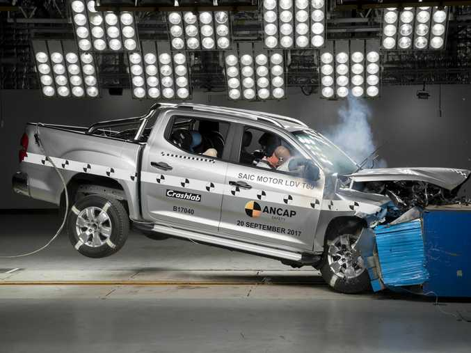 The LDV T60 outscored other five-star utes such as the Nissan Navara, Holden Colorado and Toyota HiLux.