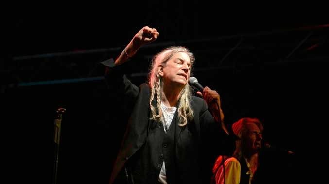 Patti Smith was the headline act at Bluesfest 2017 in Byron Bay.