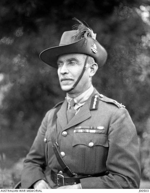 HISTORIC CHARGE: Portrait of General Sir Harry Chauvel in March 1923.
