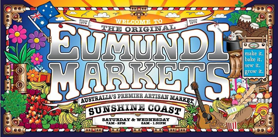 The Original Eumundi Market Board has applied for some of its existing signage to gain Sunshine Coast Council approval.