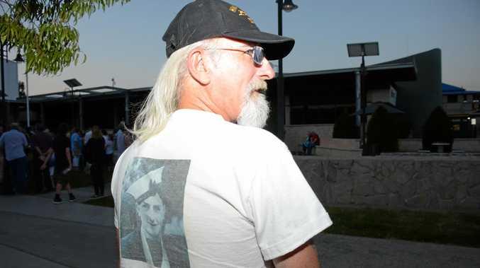 SPECIAL SONG: Robert Sheean's uncle, Teddy Sheean, inspired Lee Kernaghan's ballad Forever Eighteen.
