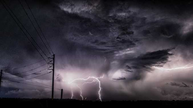 MORE thunderstorms are expected for the Wide Bay Burnett on Monday and Tuesday night.