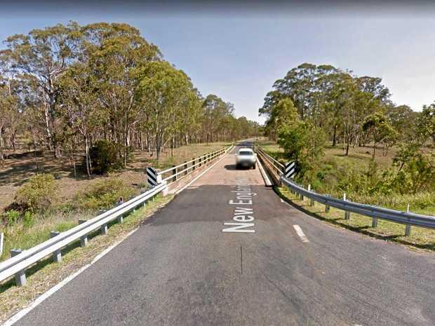 Nanango MP Deb Frecklington said an LNP Government would widen this one-lane bridge to two lanes.