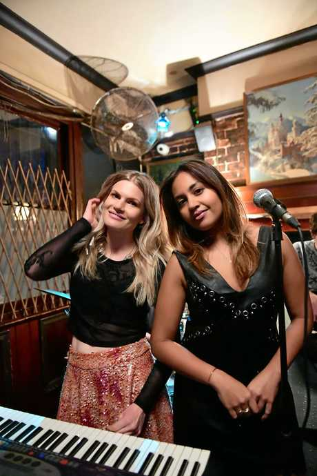 Bonnie Sveen as Layla and Jessica Mauboy as Billie in a scene from season two of The Secret Daughter.