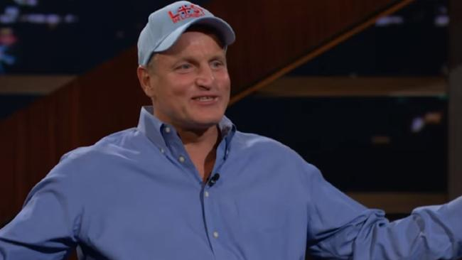 "Woody Harrelson has opened up about a ""brutal"" dinner with Donald Trump. Picture: LBJ 
