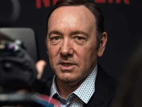 Kevin Spacey arrives at the series four premiere of House of Cards in Washington.