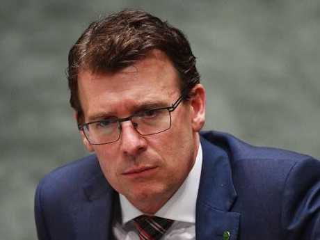 Human Services Minister Alan Tudge said the Turnbull Government was getting tough on welfare cheats. Picture: AAP/Mick Tsikas