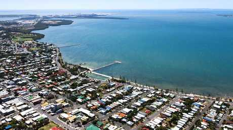 Residential property in the bayside suburb of Wynnum, Brisbane.