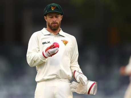 Matthew Wade flopped with the bat for the Tigers.