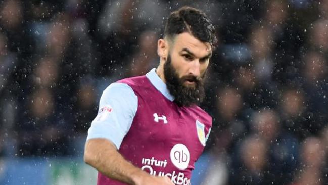 Mile Jedinak in action for Aston Villa.