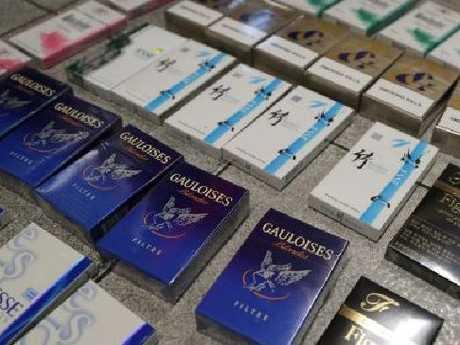 The illicit tobacco trade. Picture: NSW Police