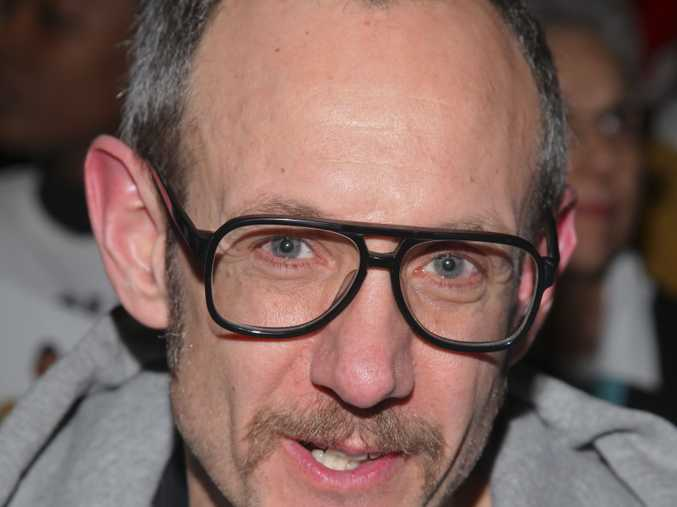 Terry Richardson attends the Jeremy Scott NYFW Fall/Winter 2016 fashion show at Skylight at Moynihan Station on Monday, Feb. 15, 2016, in New York. (Photo by Andy Kropa/Invision/AP)