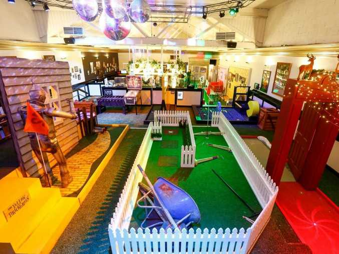 ACTION PACKED: Strike Bowling and Holey Moley Golf Club are teaming up for the first time in Queensland to open a precinct at Big Top Shopping Centre.