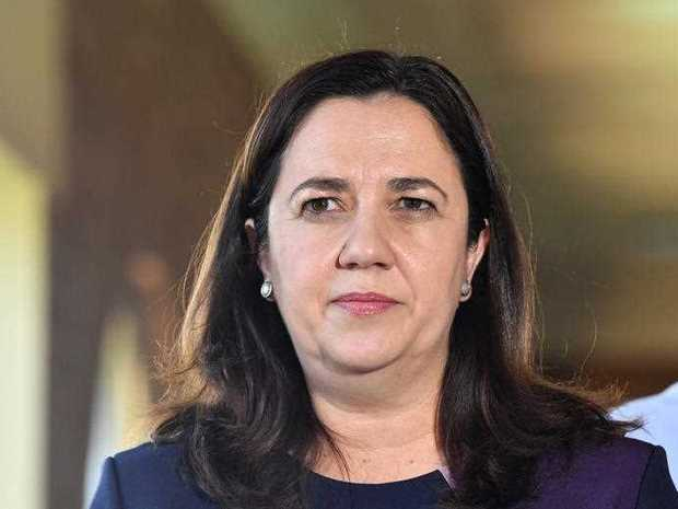 Queensland Premier Annastacia Palaszczuk is seen during a media conference at Proserpine Hospital during the Queensland Election campaign in Proserpine, Monday, October 30, 2017. Premier Palaszczuk announced that if she is re-elected her government will recruit 3000 additional nurses and 100 midwives.
