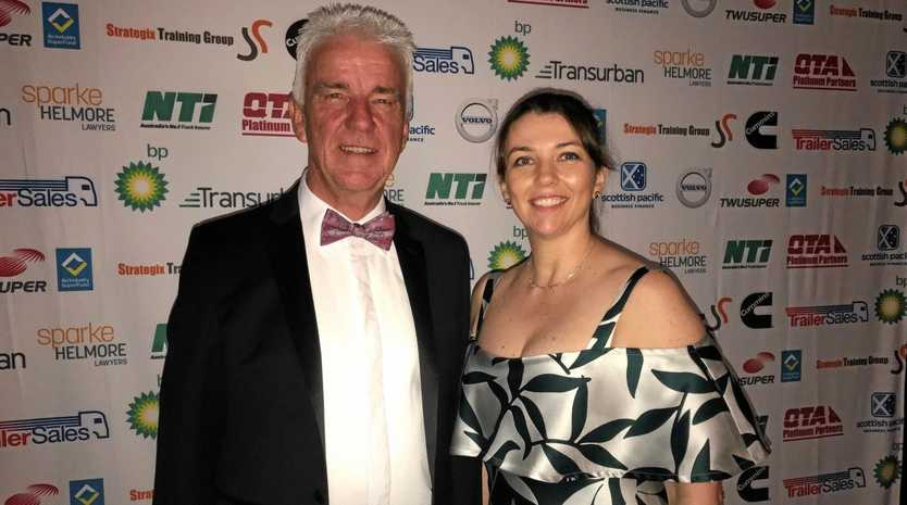 QTA CEO Gary Mahon and president Julie Russell.