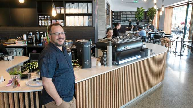 Paul Spinoglio, along with his partner Dayle and brother-in-law Shane are bringing European style dining and deli shopping to the Coffs Coast at Silvio's Cafe, Deli & Bar at Park Beach Plaza
