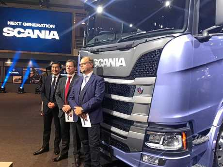 NEXT GENERATION: Scania launches its next generation in Asia.