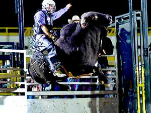 Plenty of courage by the bull riders year after year