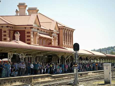 A woman is said to haunt the Toowoomba Railway Station.