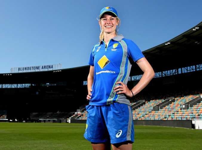 Australian fast bowler Holly Ferling is excited by the growth of women's cricket.