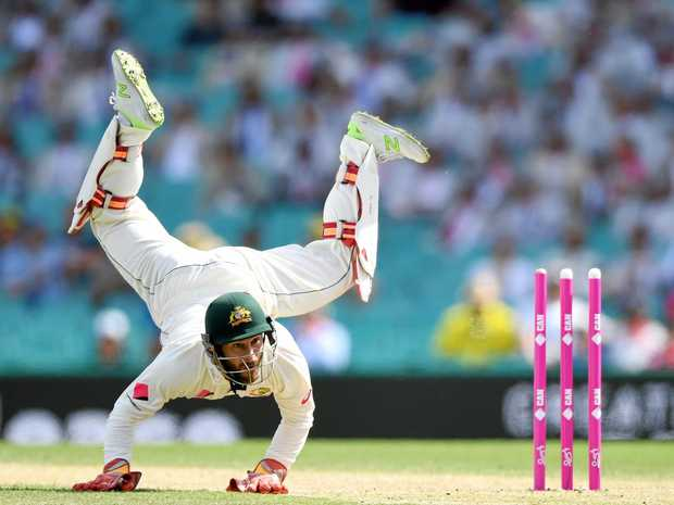 Matthew Wade could be dumped from the Australian side for the Ashes series opener.