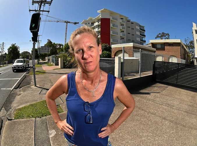 NOT HAPPY: Jaime Gannon says she received a wrongful parking infringement notice from the Sunshine Coast Council.