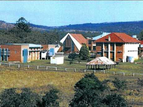Photo from the archives of the St Joseph's Neerkol Orphanage near Rockhampton.